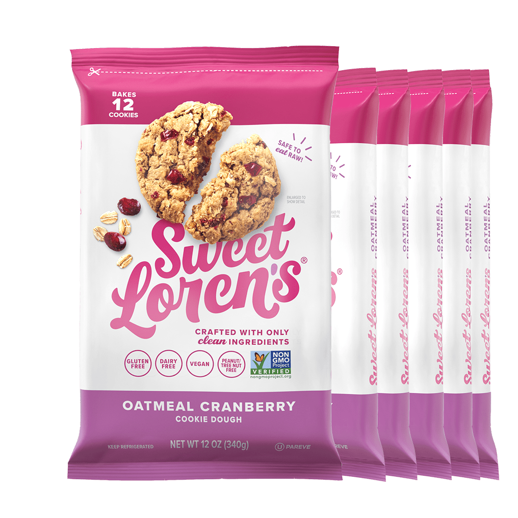 Oatmeal Cranberry Cookie Dough