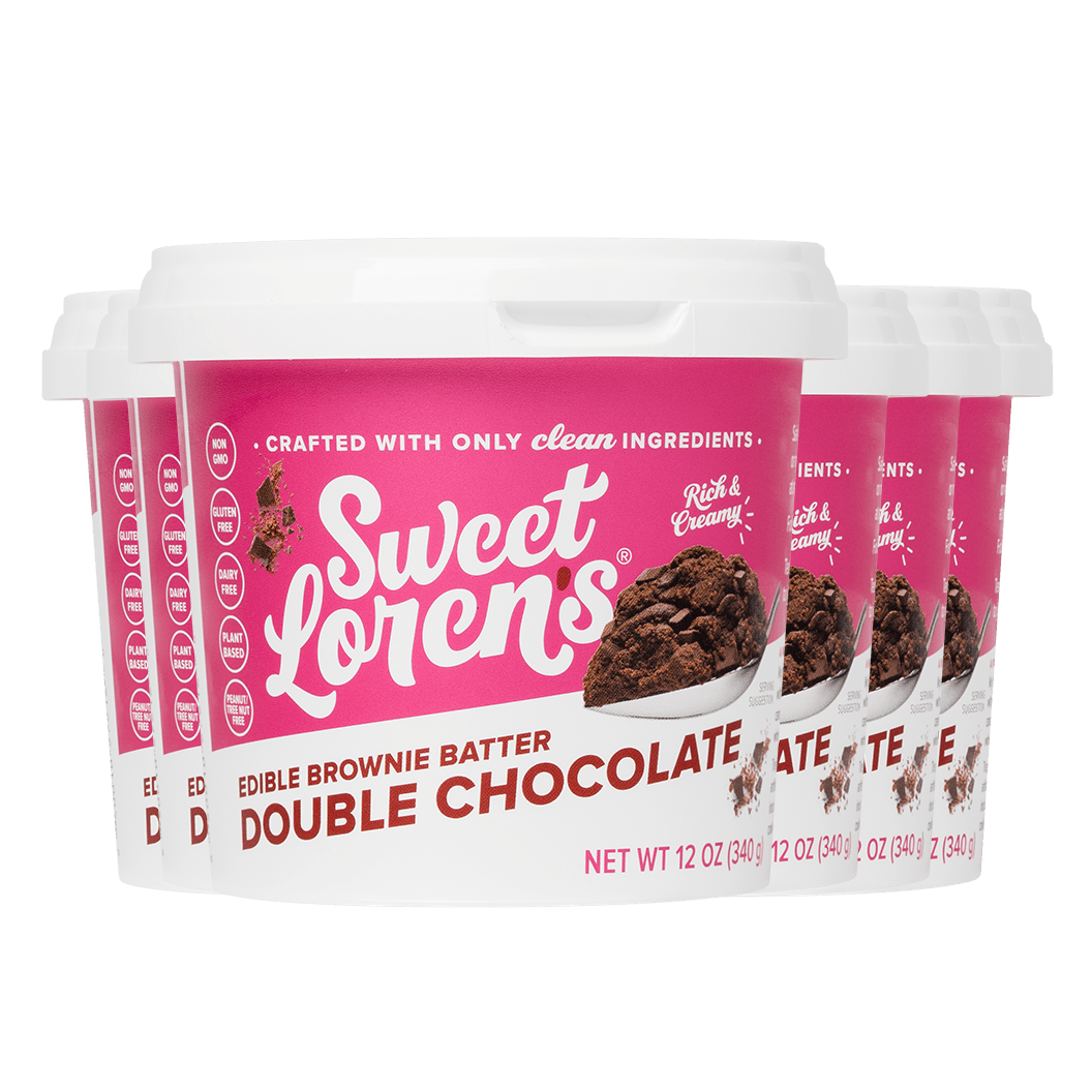 Double Chocolate Edible Brownie Batter (12 oz)